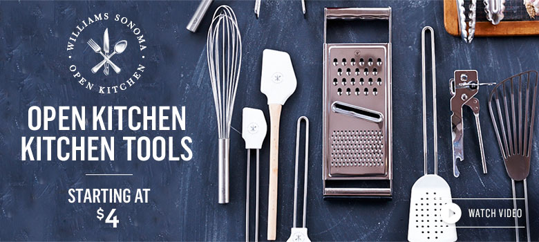 Open Kitchen Kitchen Tools