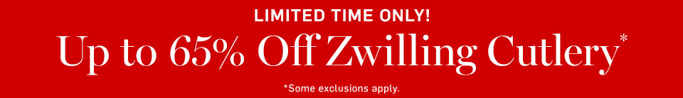 Up to 65% Off Zwilling Cutlery