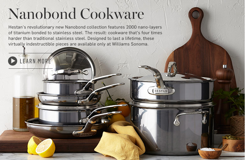 Learn More About Nanobond Cookware >