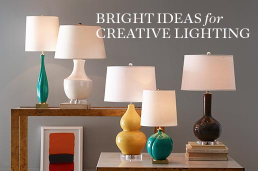 Bright Ideas for Creative Lighting