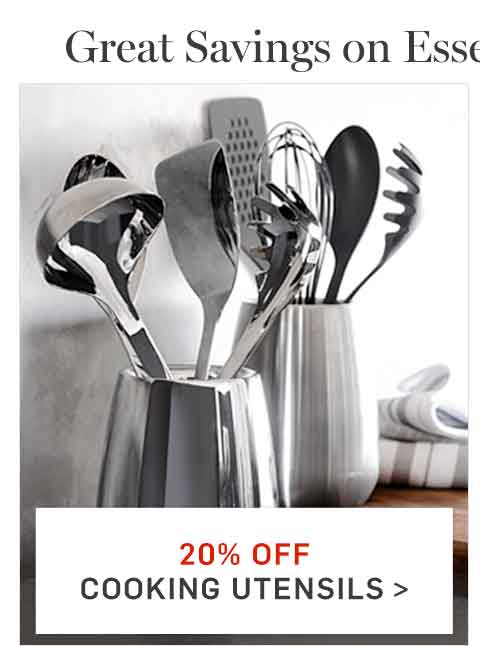 20% Off Cooking Utensils