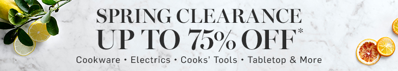 Up to 75% off Clearance*