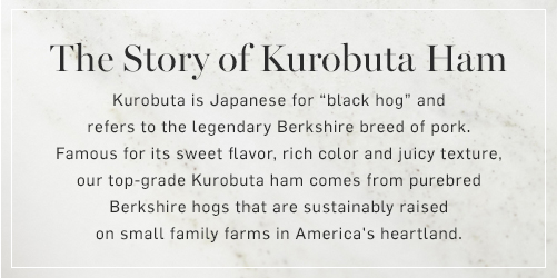 The Story of Kurobuta Ham