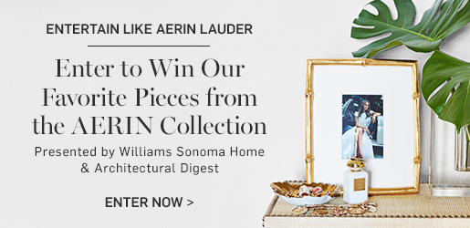 Enter to win our favorite pieces from the AERIN Collection >