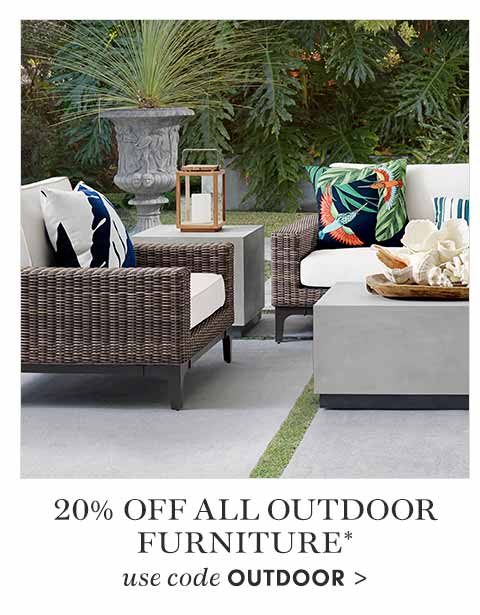 20% off Outdoor Furniture