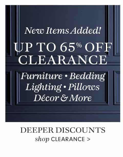 Spring Clearance
