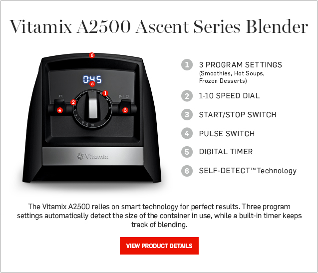 Vitamix A2500 Ascent Series Blender >