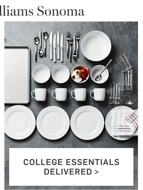 College Essentials Delivered >