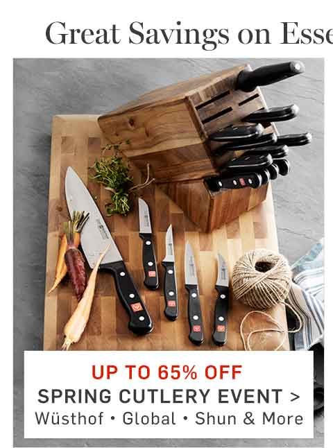 Up to 65% Off Spring Cutlery Event >