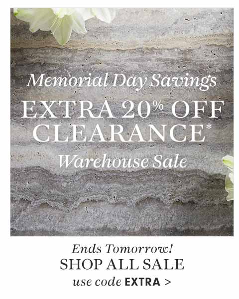 Ends Tomorrow! Extra 20% Off Clearance* Use Code EXTRA